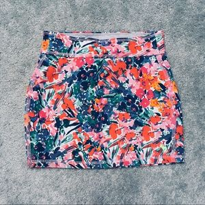 Abercrombie Stretchy Floral Skirt, Girls' Small
